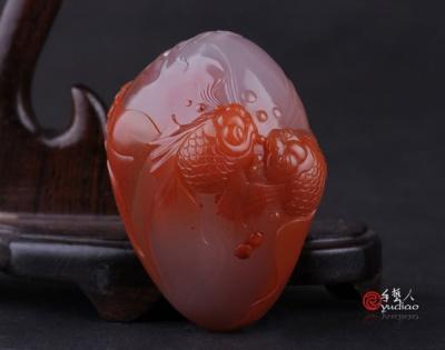巧色南红玛瑙作品是如何雕刻而成的