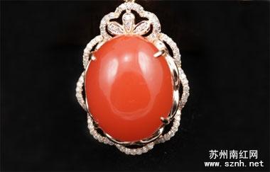 南红玛瑙戒指的镶嵌款式有哪些?