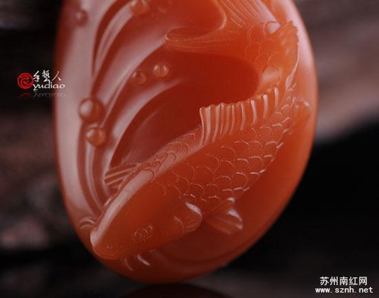苏州玉雕鲤鱼设计图
