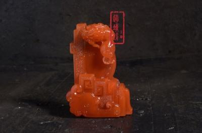 创意南红玛瑙雕件欣赏