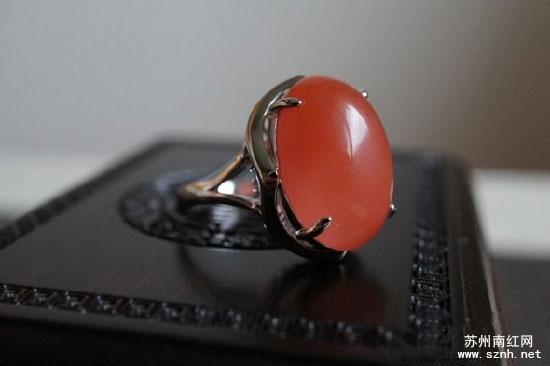佩戴南红戒指应该注意些什么?
