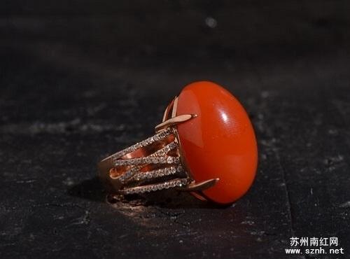 南红玛瑙戒指如何挑选(全)