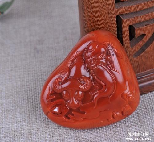 苏工南红玛瑙雕件为什么贵?