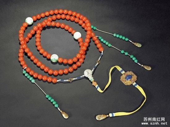 南红玛瑙朝珠收藏必懂知识