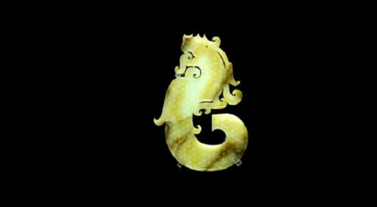 汉代玉器的纹饰主要以几何纹和动物纹为主.